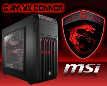 Gamyx Connor | İ3 7100 | 8GB Ram | 1TB HDD | GTX1050 | Gaming Bilgisayar