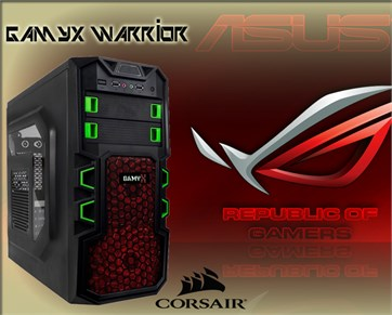 Gamyx Warrior | G4560 | 8GB Ram | 1TB HDD | Asus 1050Tİ / Gaming Bilgisayar